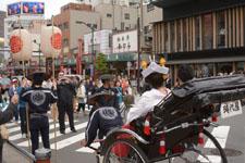 浅草 人力車の画像002