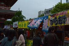 浅草寺境内の出店の画像001