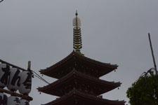浅草寺の五重塔の画像002