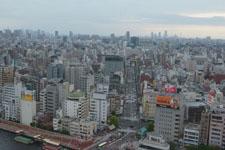 隅田川と浅草の街並みの画像001