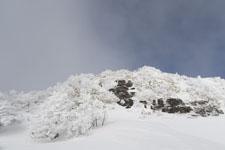 寒風山の冬山の画像001