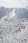 寒風山の冬山の画像005