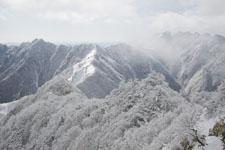 寒風山の冬山の画像006