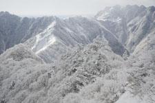寒風山の冬山の画像008