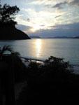 沖縄の海に沈む夕日の画像001