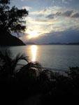 沖縄の海に沈む夕日の画像004