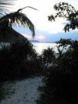 沖縄の海に沈む夕日の画像005