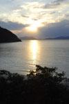 沖縄の海に沈む夕日の画像009