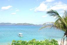 沖縄の海と船の画像003