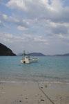 沖縄の海と船の画像011