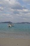 沖縄の海と船の画像012