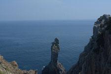 高知県大堂海岸の断崖の画像001