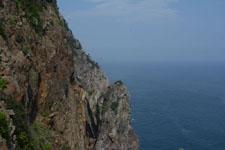 高知県大堂海岸の断崖の画像003