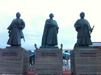 高知県の坂本龍馬像