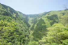 祖谷の渓谷の画像002