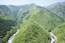祖谷の渓谷の画像006