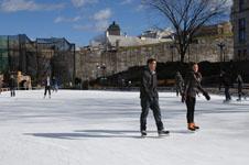 ケベックのスケートリンクの画像001