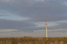 根室半島の風車