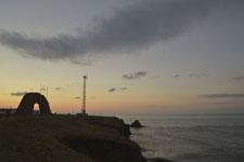 納沙布岬のモニュメント