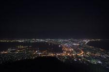北海道函館の夜景