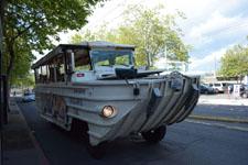 シアトルの水陸両用車