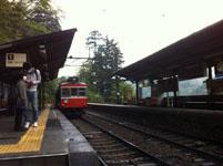 箱根の登山電車の画像001