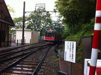 箱根の登山電車の画像002