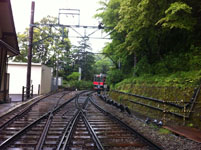 箱根の登山電車の画像003